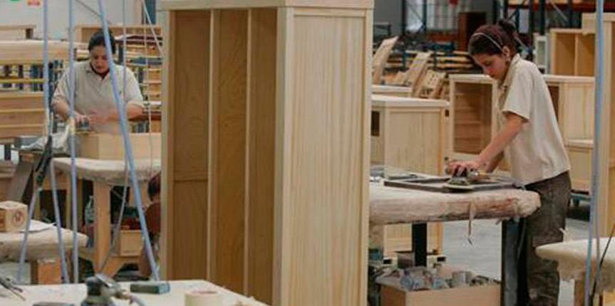 Industria mueblera estima incremento de casi 11 por ciento for Fabrica de muebles en lucena