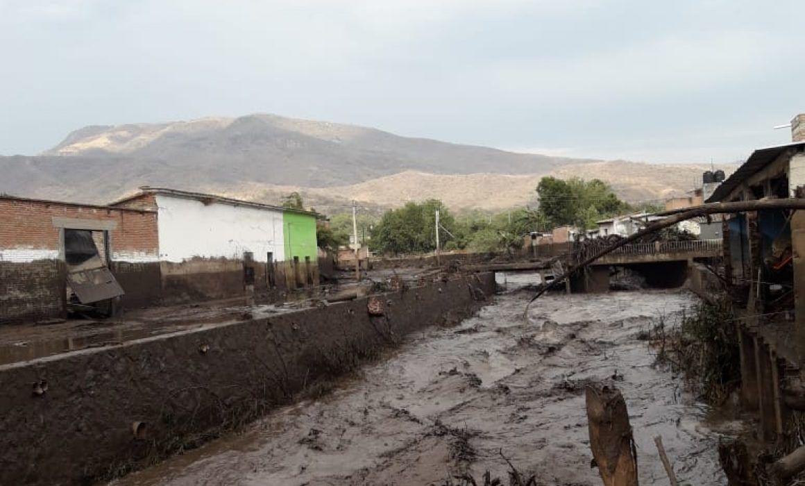 Lluvia Provocó El Desbordamiento Del Río En San Gabriel Jalisco