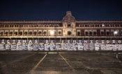 Legisladoras federales de Jalisco defienden vallas en Palacio Nacional