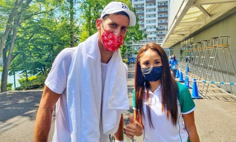 Novak Djokovic, la figura más buscada en la Villa Olímpica